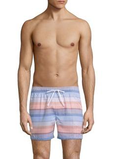 2(x)ist Malibu Striped Swim Shorts