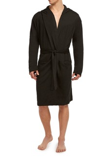 2(x)ist Men's Terry Fitted Slim-Fit Hooded Robe