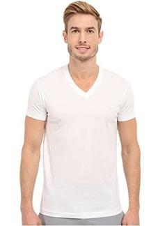 2(x)ist Pima Cotton Short Sleeve V-Neck