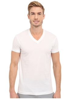 2(x)ist Pima Cotton Short Sleeve V-Neck
