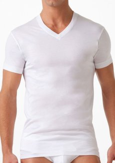 2(x)ist Pima Cotton V-Neck T-Shirt  White