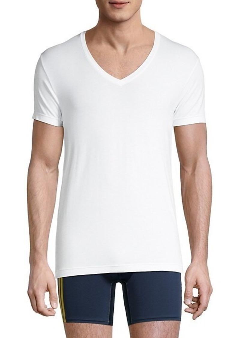 2(x)ist Slim-Fit V-Neck T-Shirt
