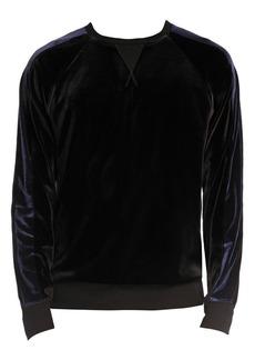 2(x)ist Velour Sweatshirt