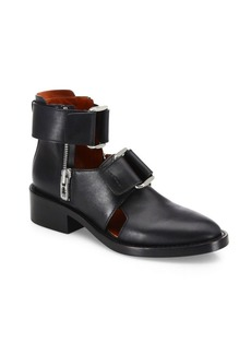 3.1 Phillip Lim Addis Cutout Leather Booties