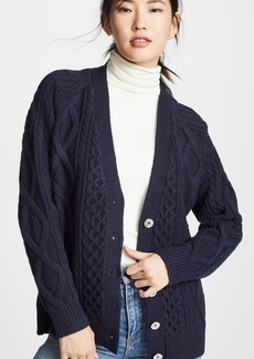 3.1 Phillip Lim Aran Wool Cardigan