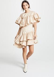 3.1 Phillip Lim Asymmetric Flamenco Dress