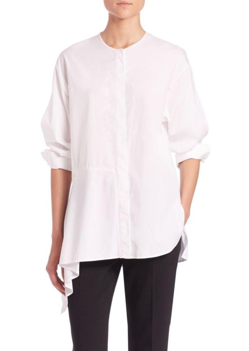 3.1 Phillip Lim Asymmetrical Cotton Blouse