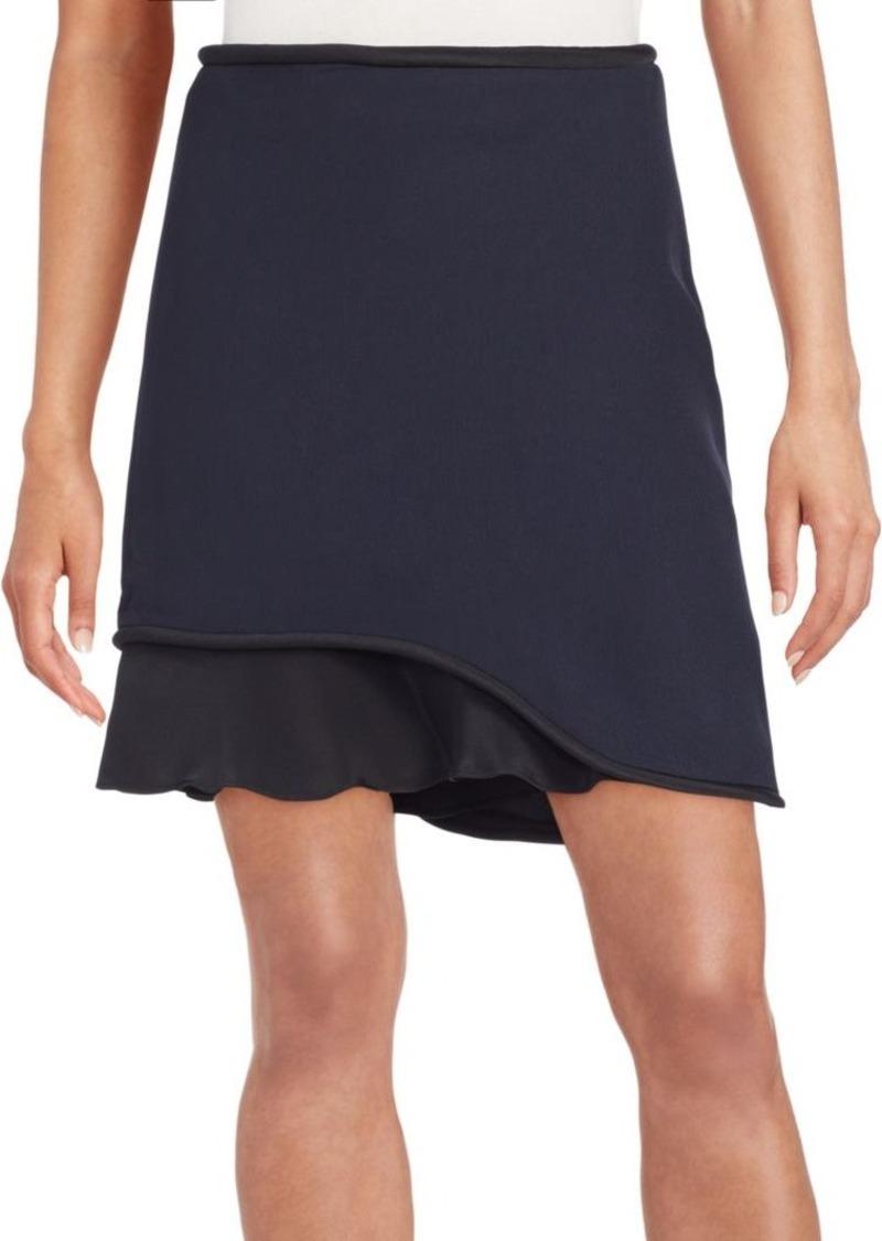 3.1 Phillip Lim Ruffle-Paneled Skirt