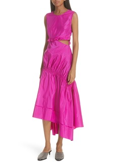 3.1 Phillip Lim Asymmetrical Silk Taffeta Dress