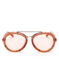 3.1 Phillip Lim Aviator Sunglasses, 60mm