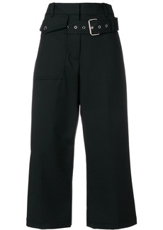 3.1 Phillip Lim Belted cropped trousers - Black