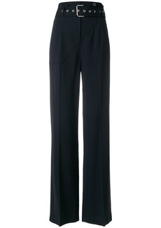 3.1 Phillip Lim belted flared trousers - Blue