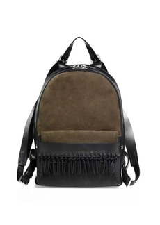 3.1 Phillip Lim Bianca Fringed Leather Mini Backpack
