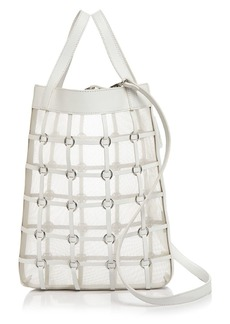 3.1 Phillip Lim Billie Mini Twisted Cage Leather Tote
