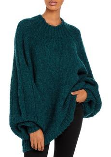 3.1 Phillip Lim Blouson-Sleeve Sweater