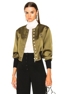 3.1 phillip lim Bomber Jacket with Pearls