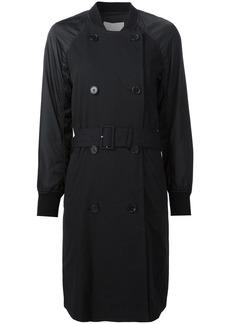 3.1 Phillip Lim bomber sleeve trench coat - Black