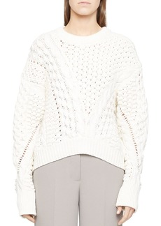3.1 Phillip Lim Cable Knit Sweater