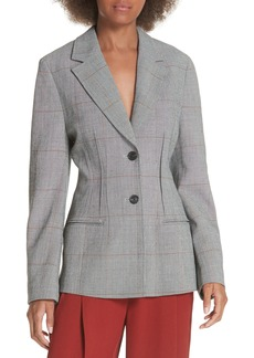 3.1 Phillip Lim Checkered Wool Blend Blazer