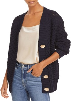 3.1 Phillip Lim Chunky Cable Cardigan