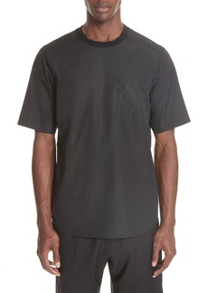 3.1 Phillip Lim Cotton Poplin T-Shirt