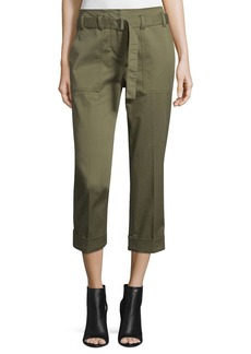3.1 Phillip Lim Cropped Belted Utility Pants