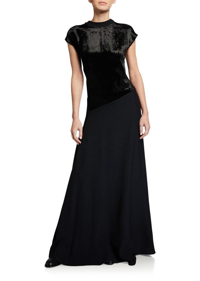 3.1 Phillip Lim Deep Back V Dress