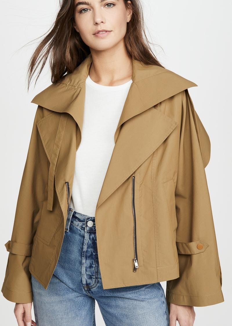 3.1 Phillip Lim Detachable Collar Jacket