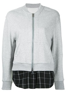 3.1 Phillip Lim double layer bomber jacket - Grey