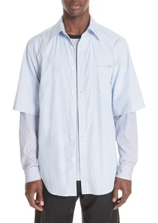 3.1 Phillip Lim Double Layer Woven Shirt