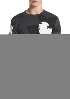 3.1 Phillip Lim Double Sleeve Floral T-Shirt