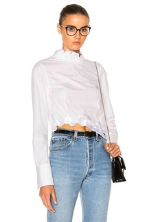 3.1 phillip lim Embroidered Crop Top
