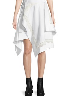 3.1 Phillip Lim Embroidered Handkerchief Skirt