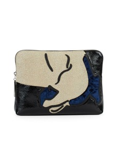 3.1 Phillip Lim Exclusive: 31 Leather Clutch