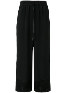 3.1 Phillip Lim flared cropped trousers - Black