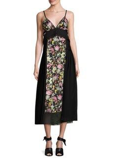 3.1 Phillip Lim Floral-Print Silk Midi Dress