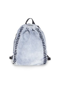 3.1 Phillip Lim Go-Go Medium Washed Denim Backpack