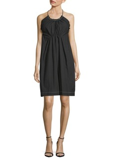 3.1 Phillip Lim Halter-Neck Cotton Dress