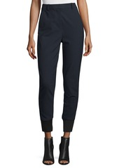 3.1 Phillip Lim High-Rise Straight-Leg Track Pants