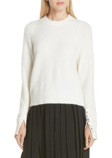 3.1 Phillip Lim Inset Shoulder High/Low Pullover