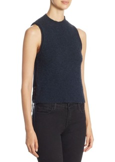 3.1 Phillip Lim Lace-Up Knit Tank Top