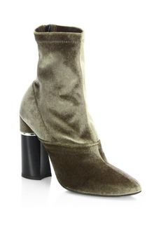 3.1 Phillip Lim Kyoto Velvet Stretch Booties