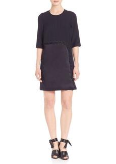 3.1 Phillip Lim Lace-Up Detail Shift Dress