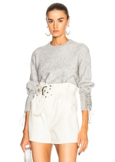 3.1 phillip lim Lace Up Sweater