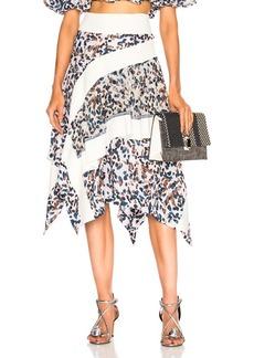 3.1 phillip lim Layered Painted Dot Skirt