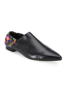 3.1 Phillip Lim Leather Babouche Slippers