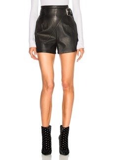 3.1 phillip lim Leather Utility Short