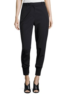 3.1 Phillip Lim Lightweight Stretch Wool Track Pants