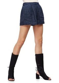 3.1 Phillip Lim Linen Pinstripe Utility Shorts