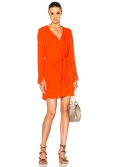 3.1 phillip lim Long Sleeve Front Knot Dress